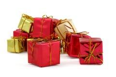 Varios regalos Imágenes de archivo libres de regalías
