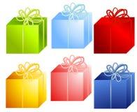 Varios regalos de la Navidad libre illustration