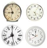 Varios relojes Foto de archivo