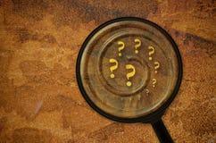 Varios signos de interrogación Imagen de archivo libre de regalías