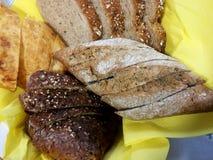 Varios tipos de pan Fotos de archivo libres de regalías