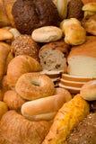 Varios tipos de pan Fotos de archivo