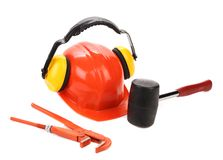 Varios working equipment. Stock Photography