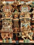 Variou Hindu gods Deity Stock Images
