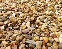 Variounds sorter; stenar från floden Arkivbild