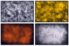 Various abstract backgrounds. Various abstract filthy banner backgrounds Royalty Free Stock Photos
