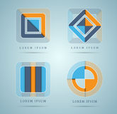 Various abstract design elements Stock Photo