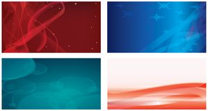 The various abstract forms Stock Image