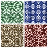 Various abstract patterns Stock Image