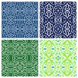 Various abstract patterns Royalty Free Stock Photos