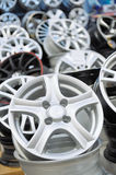Various  alloy wheels Stock Images
