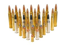Various ammunition Royalty Free Stock Images
