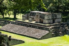 Mayan Ruins of Copan, Honduras. Various angles of the Mayan ruins of Copan, in Honduras royalty free stock images