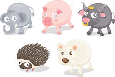 Various animals Stock Images
