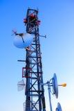 Various antenna Royalty Free Stock Photo