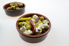Various antipasti Stock Photography