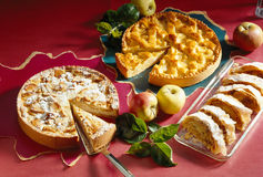 Various of apple pie Royalty Free Stock Image