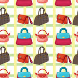 Various bags and purses Royalty Free Stock Photos