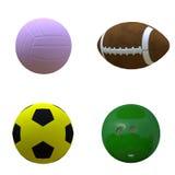 Various balls Stock Image