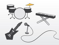 Band Instruments Royalty Free Stock Images
