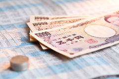 Various of bank note Royalty Free Stock Images