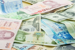 Various Banknote Stock Image