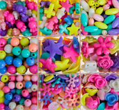 Various beads Royalty Free Stock Image