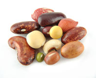 Various Beans Royalty Free Stock Photos