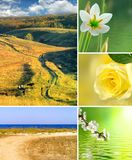 Various beautiful landscapes Stock Photography