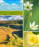 Various beautiful landscapes Stock Photo