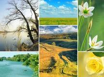 Various beautiful landscapes Stock Photos