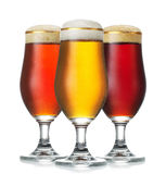Various beer Royalty Free Stock Images