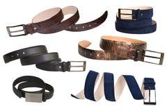 Various belts Stock Image