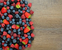 Various berries Royalty Free Stock Photo