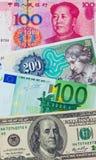 Various bills Stock Photography