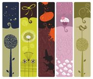 Various Bookmarks Stock Images