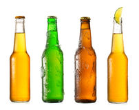 Various  bottles of beer Stock Photography