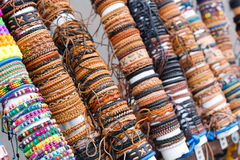 Various bracelets Royalty Free Stock Image