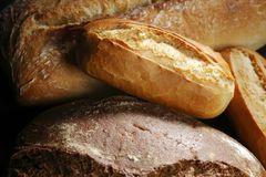 Various bread background Royalty Free Stock Image