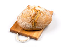 Various of bread on cutting board Stock Photography