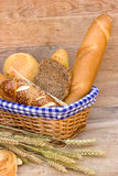 Various bread and pastry Royalty Free Stock Photography