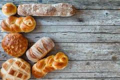 Various Bread Types Royalty Free Stock Photo