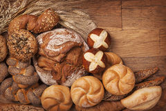 Various bread Stock Photography