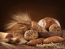 Various bread Royalty Free Stock Images