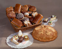 Various Breads Stock Photo