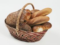 Various Breads Stock Photos
