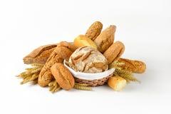 Various breads Stock Photos