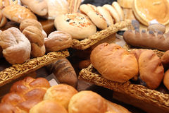 Various of breads Stock Photos