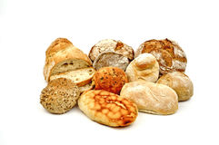 Various breads. Royalty Free Stock Photo