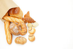 Various breads Stock Photography